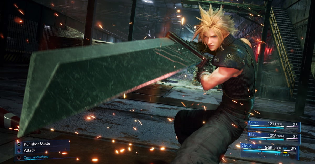 Final Fantasy VII Remake: Best weapon builds for Cloud Strife