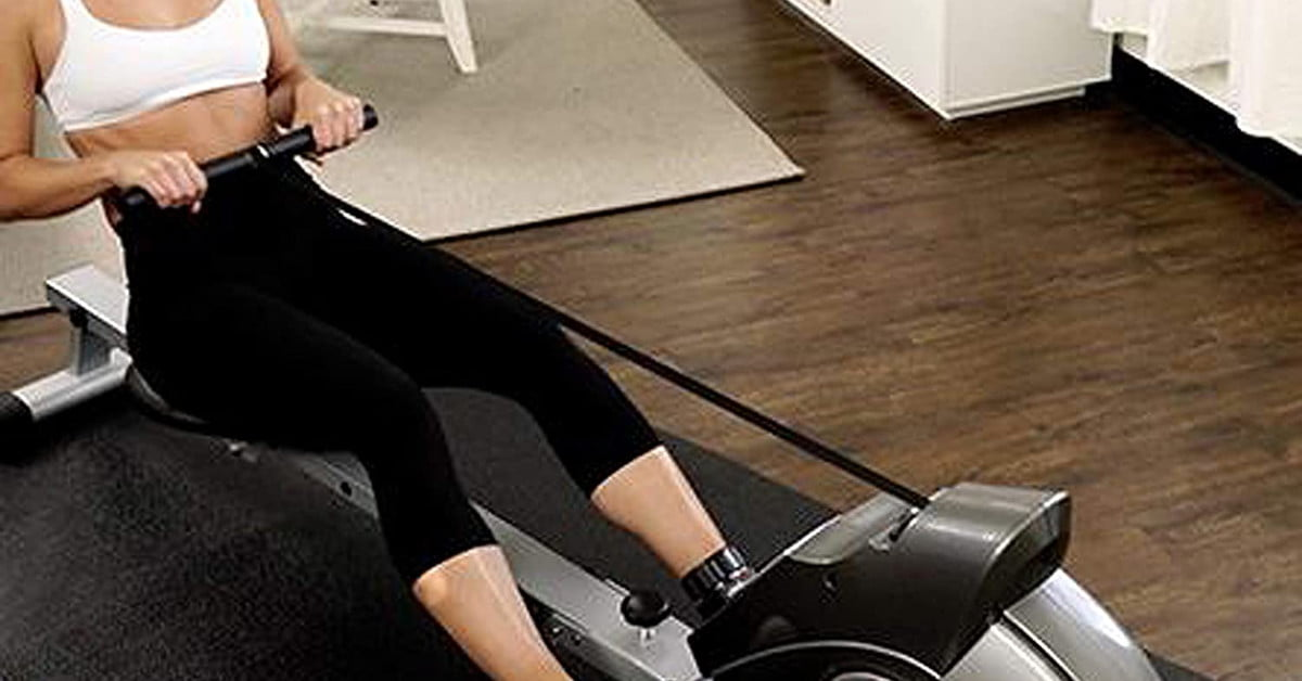 This Sunny Health rowing machine is down to $195 this Black Friday