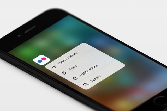 flickr ios 9 3d touch ios9 quick actions