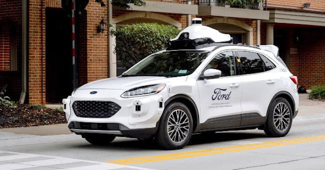 Ford reveals the vehicle destined for its autonomous-car services