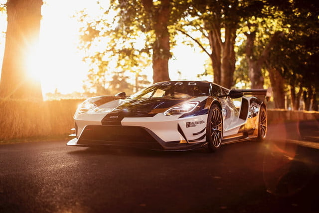 Ford GT Mk II Track Car Revealed at Goodwood Festival of