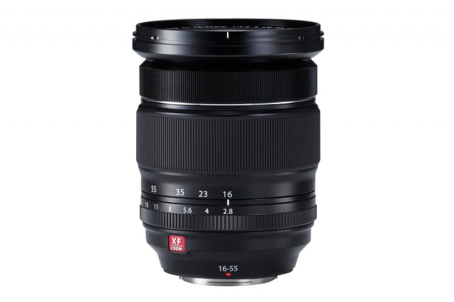 fujifilm makes smaller appearance ces 2015 reveals xf16 55mm f2 8 lens flat
