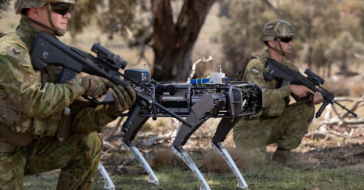 Future armies could use teams of drones and robots to storm buildings