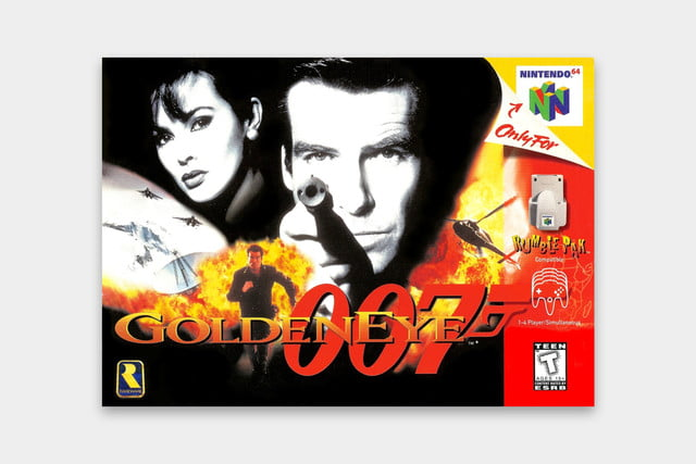 best video games based on movies goldeneye case