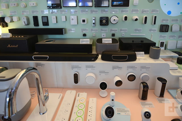 google stole the show ces 2018 booth devices v2