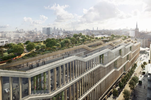 "Google's London ""Landscraper"" campus"