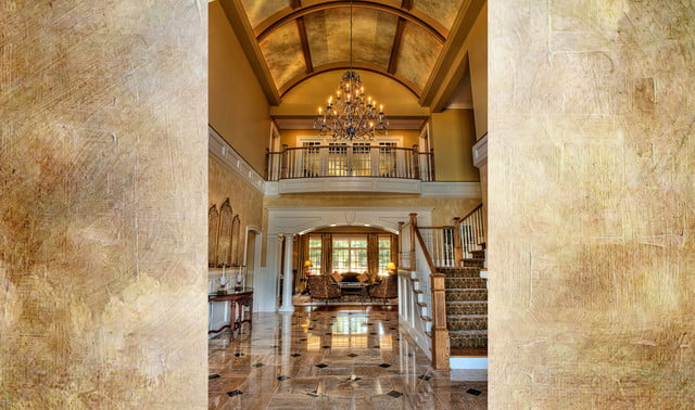 houses with amazing indoor slides greenville estate foyer