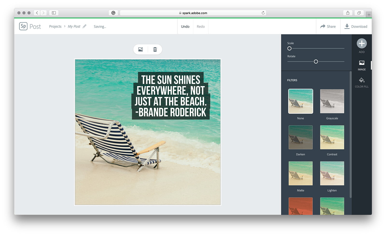 How to Use Adobe Spark Post to Spice up Your Social Media