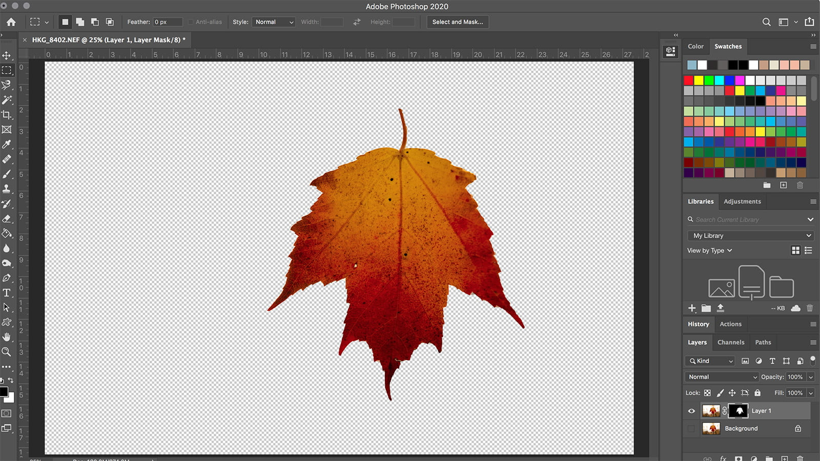 How to Make a Background Transparent in Photoshop | Digital Trends