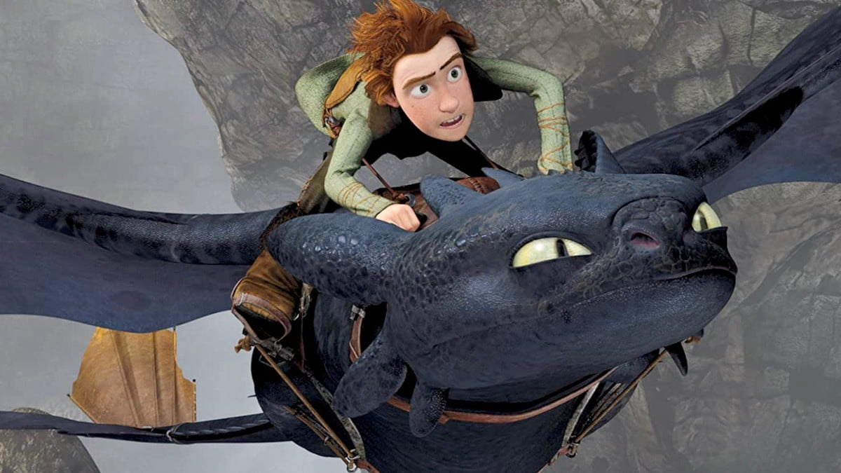 How to Train Your Dragon featuring Toothless and Hiccup (Jay Baruchel)