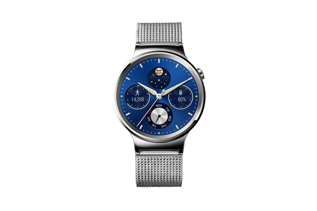huawei watch news stainless mesh front