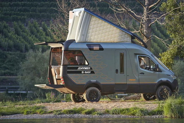 hymer visionventure concept previews the camper van of 2025 vision venture 5