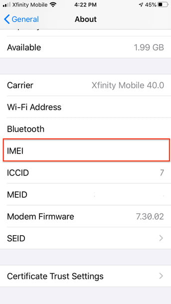 how to check your imei number imei9