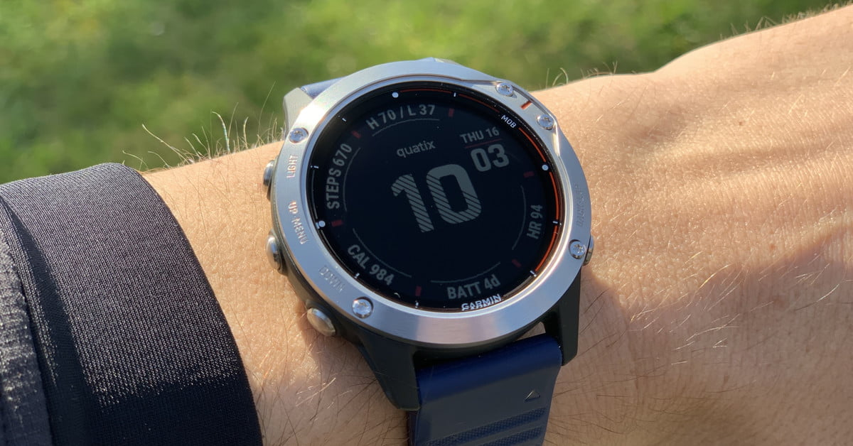 Garmin Quatix 6 Review: It's Much More Than a Boat Watch