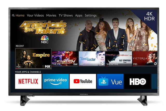 amazon fire tv sale on streaming media sticks dvrs and smart insignia ns 43df710na19 43 inch 4k ultra hd led hdr  edition 1