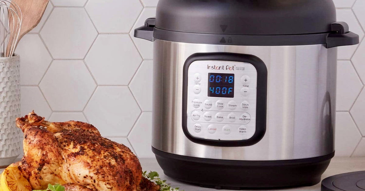 Instant Pot Duo Crisp with Air Fryer Lid down to $79 for Black Friday