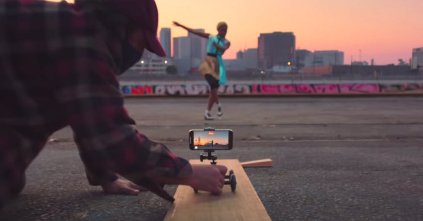 Apple's new iPhone ad offers shooting tips for budding filmmakers