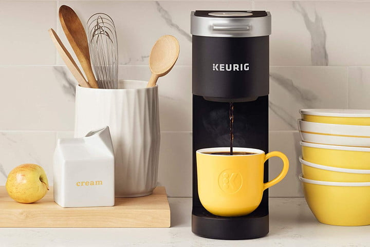 amazon slices prices on keurig k cup coffee makers for labor day mini single serve maker  black 1
