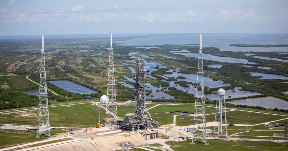 Immerse yourself in NASA's VR tour of Kennedy's Launch Pad 39B