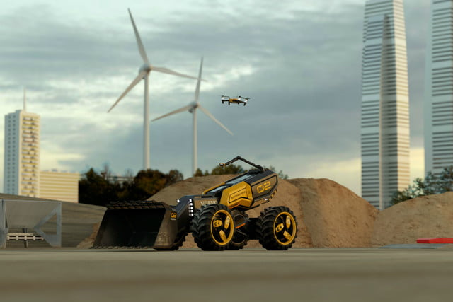 volvo lego wheel loader and 04