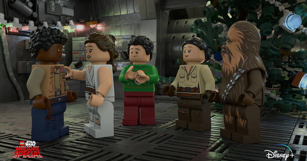 Star Wars will give the holiday special another try on Disney+ with Legos