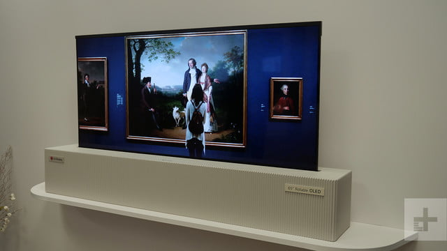 lg 65 inch rollable uhd oled ces video 2