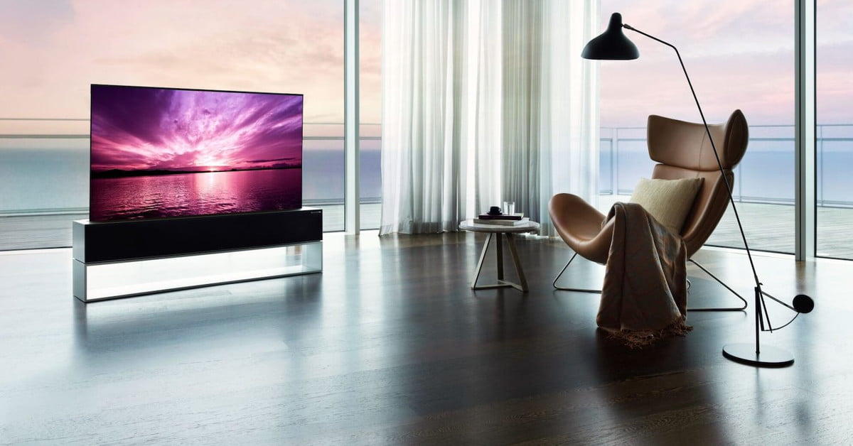 LG's rollable OLED TV goes on sale with an eye-watering price tag