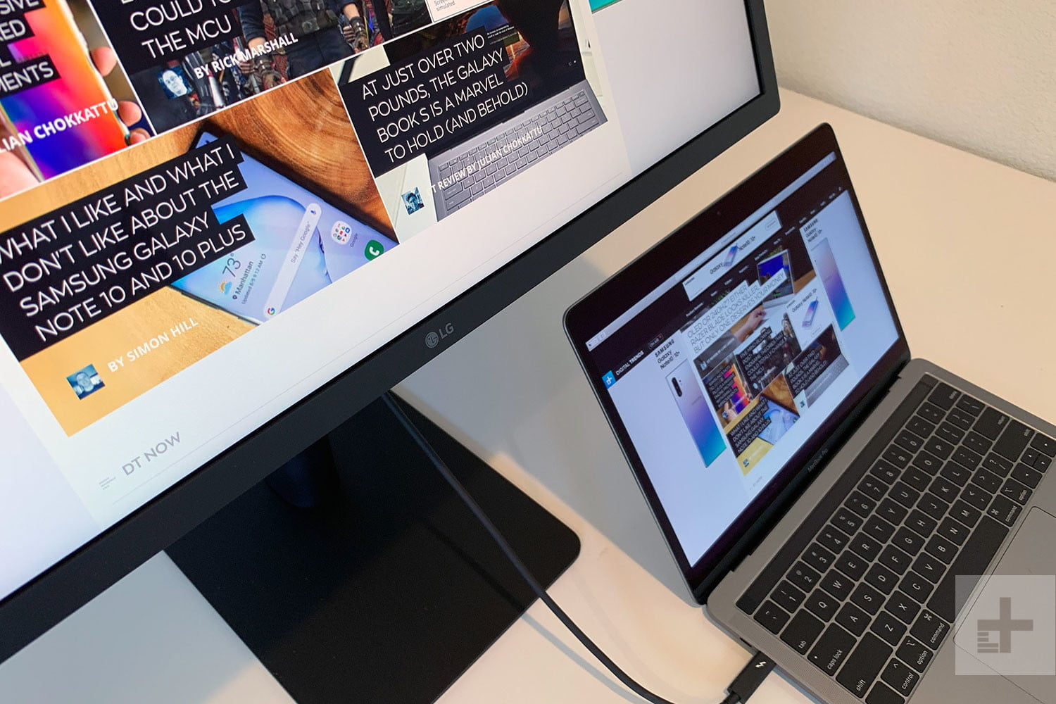 LG's new UltraFine 4K monitor gives your MacBook's Touch Bar a job