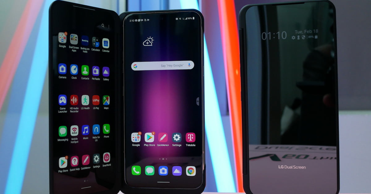 LG V60 ThinQ Hands-On: A Fold You Don't Have To Worry About | Digital Trends