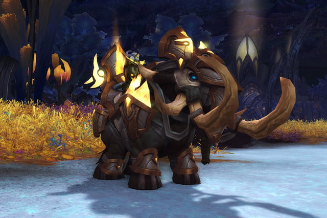 world of warcraft allied races guide lightforged mount