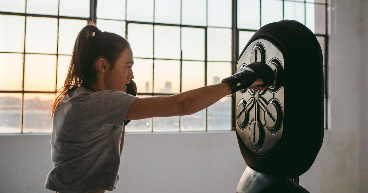 Liteboxer is the Dance Dance Revolution of in-home boxing workouts