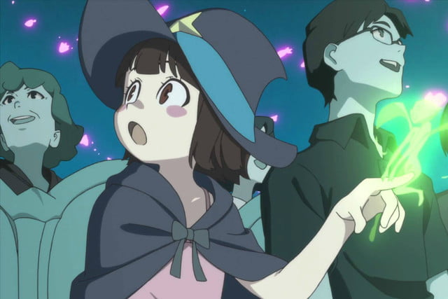 best anime on netflix little witch academia g