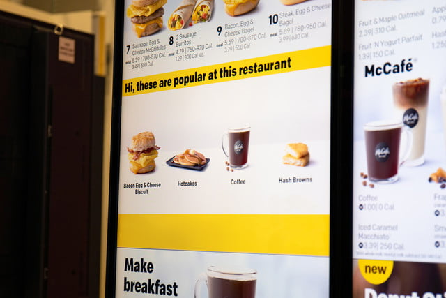 mcdonalds uses ai to tempt you into extra purchases at the drive thru popular