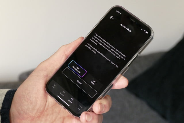 cambridge audio melomania touch review app low power mode