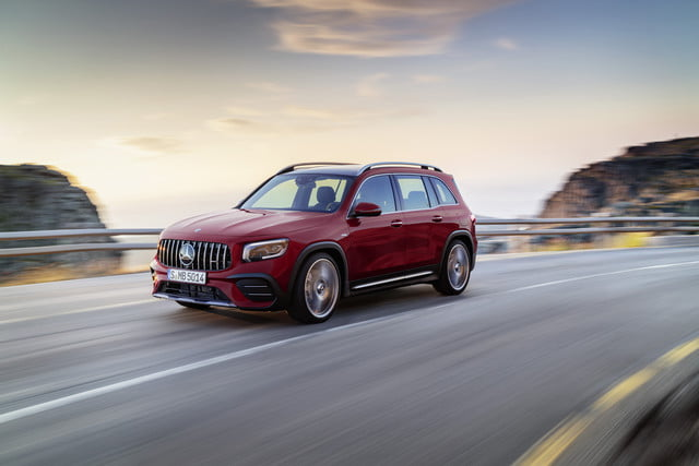 2020 mercedes benz glb is a g class for the masses amg 35 4matic  2019