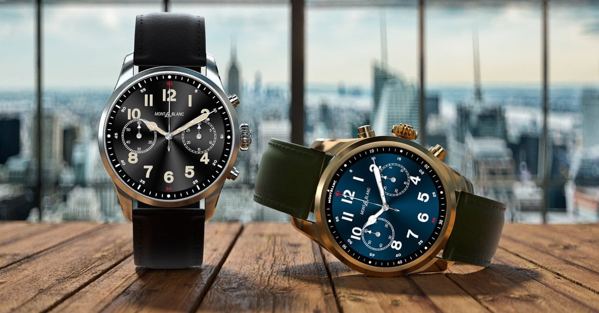 Montblanc's Summit 2 Plus is a Luxury Smartwatch with LTE