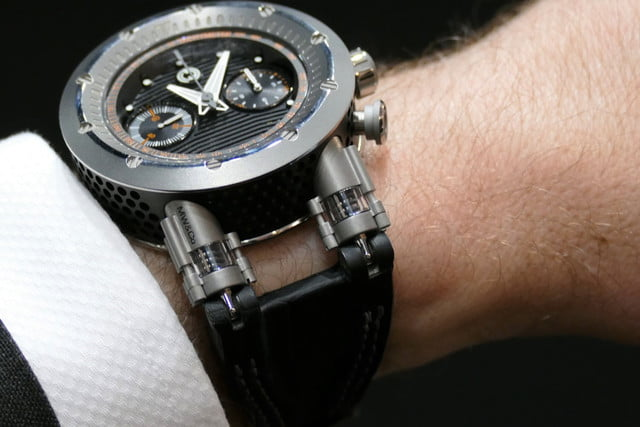 Like a Car, This Luxury Watch Has Dampers to Make it More