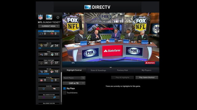 NFL Live Streams: Hands on With NFL Sunday Ticket tv