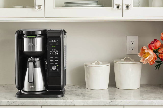 amazon ninja coffee maker deals hot and cold brewed system auto iq tea with thermal carafe 05