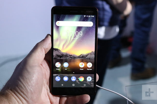 nokia 6 2018 hands on mwc 5