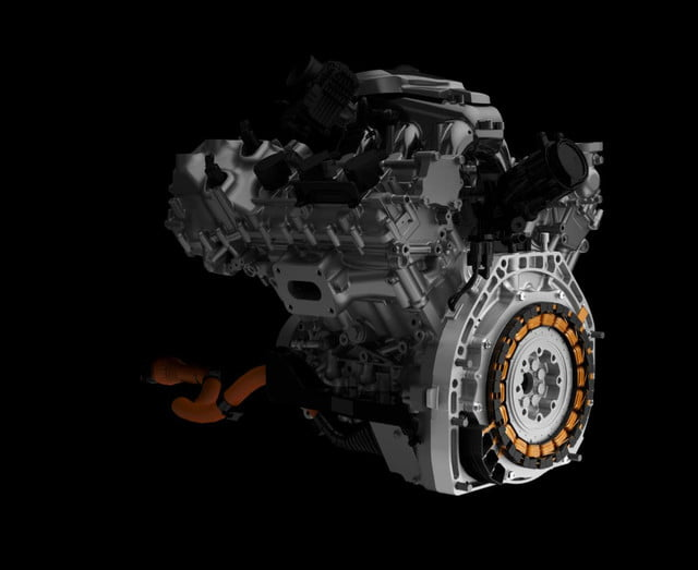 2016 Acura NSX Rear Direct-Drive Electric Motor & Engine Slice