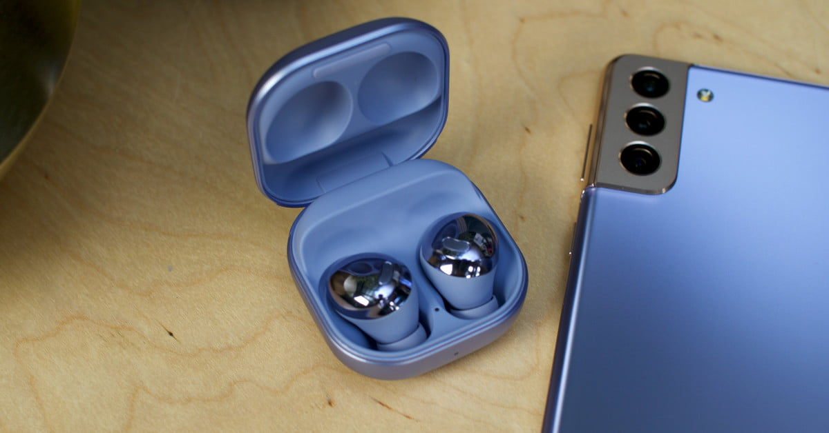 Galaxy Buds Pro Noise-Canceling Earbuds Lead Samsung's Line