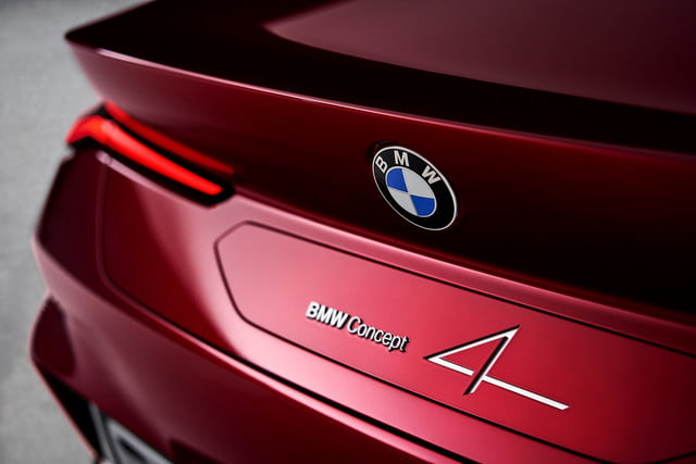 bmw concept 4 previews the 2021 series coupe at 2019 frankfurt auto show p90364655 highres