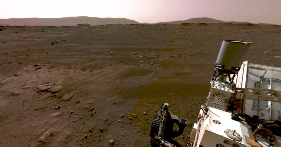 Check out Perseverance's first panoramic image from Mars - Digital Trends