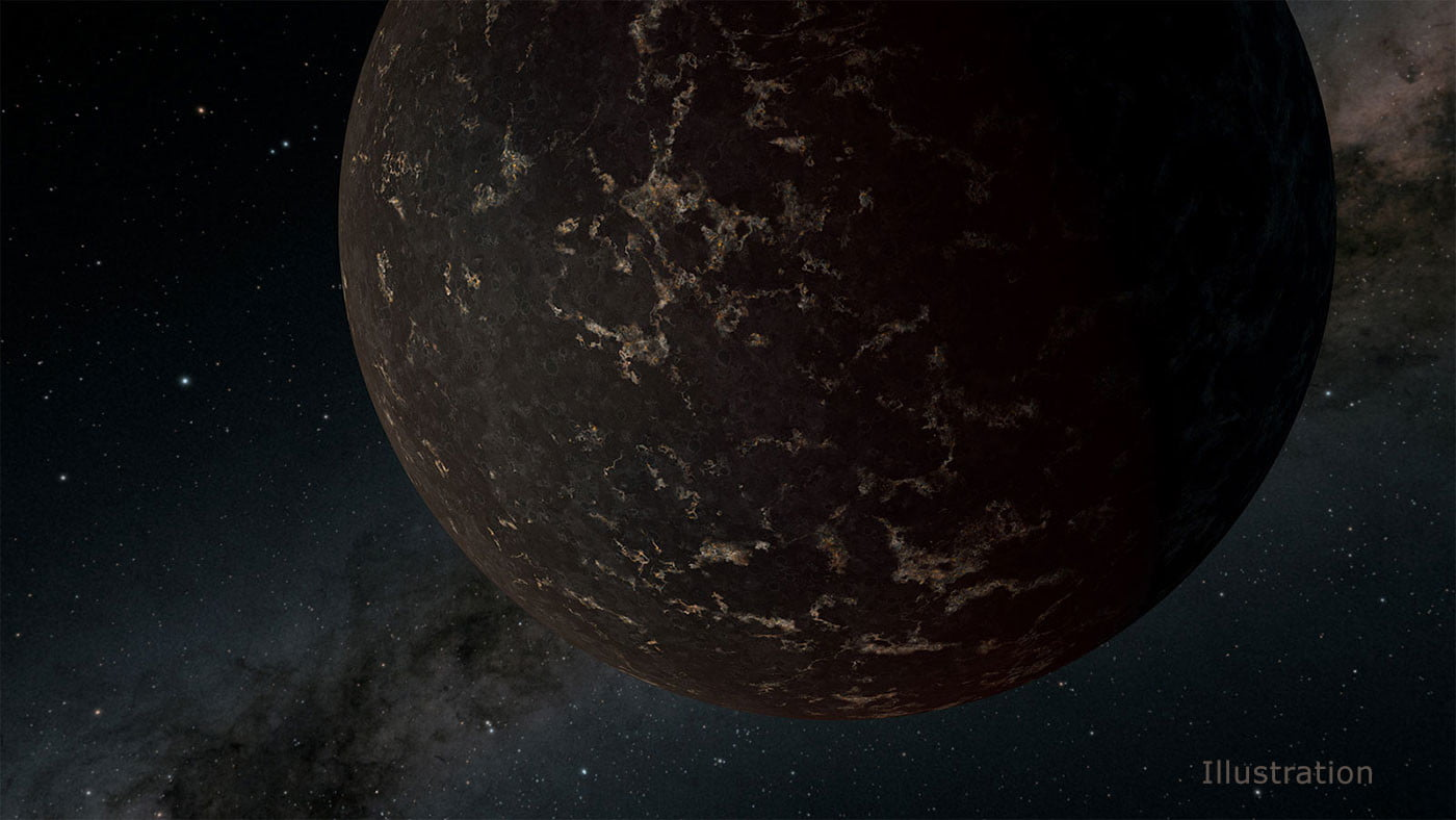 Spitzer studies hellish planet with surface temperature of thousands of degrees