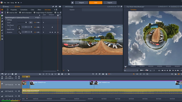 Color Grading Pushes Pinnacle Studio 22 Towards More Pro