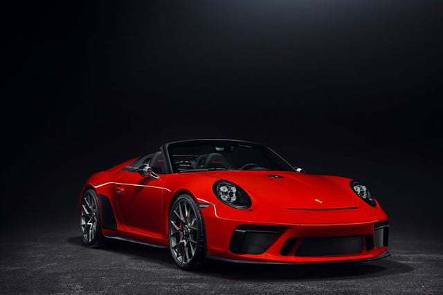 Porsche 911 Speedster red