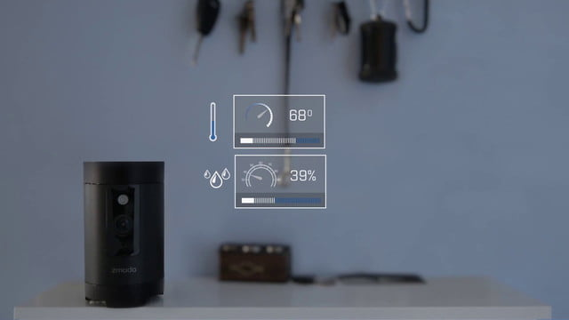 zmodo total smart home vision pivot  ces 2017