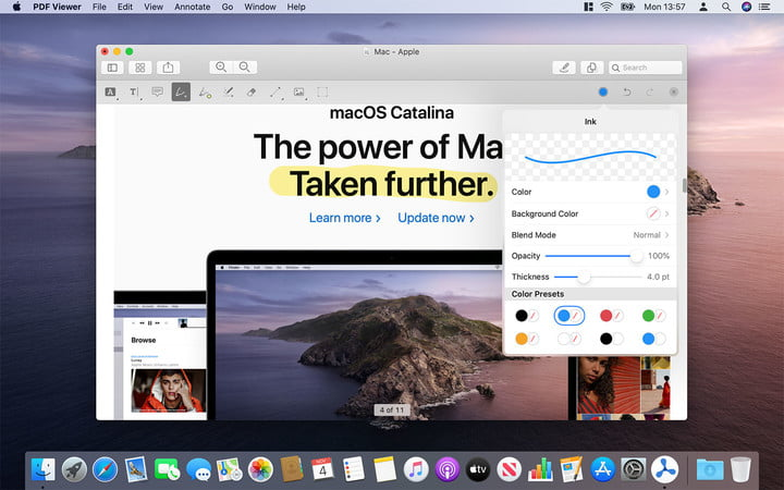 MacOS Catalina Project催化剂应用程序pdf查看器的性能如何