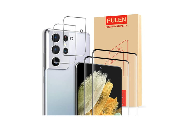 Pulen Tempered Glass Screen Protector for Samsung Galaxy S21 Ultra